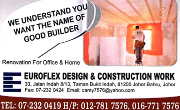EUROFLEX DESIGN AND CONSTRUCTION WORK