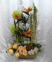Table Arrangement - Artificial Flower