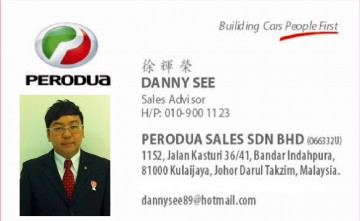 Perodua Sales Sdn Bhd
