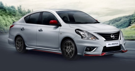 The New Almera Facelift Nissan