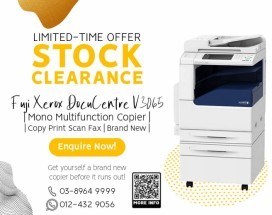 𝐒𝐓𝐎𝐂𝐊 𝐂𝐋𝐄𝐀𝐑𝐀𝐍𝐂𝐄 FUJI XEROX DOCUCENTRE V3065 (Limited-Time Offer)