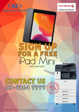 Rent Copier Promosi FREE IPAD